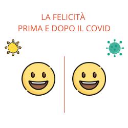 La felicità prima e dopo il covid
